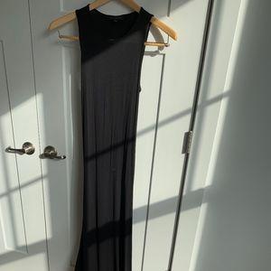 Dance & Marvel Long Black Dress- Polyester